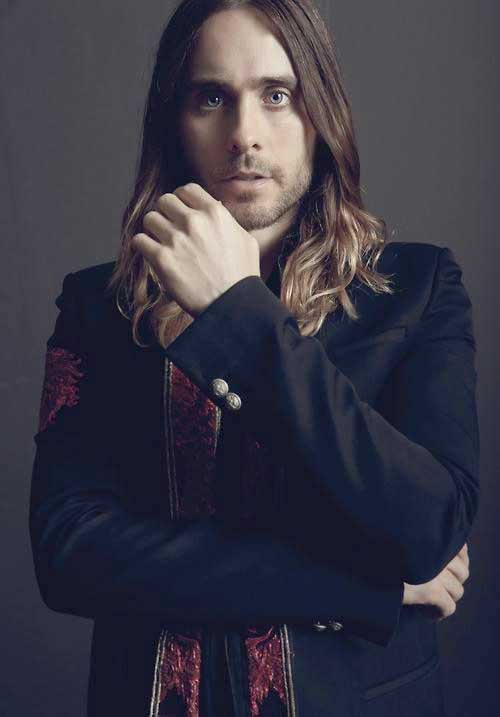 Jared Leto with Long Hairstyles