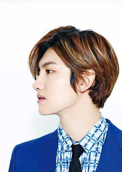 Korean Men Medium Hairstyles