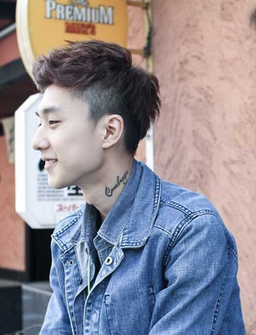 Latest Short Asian Hairstyles Men