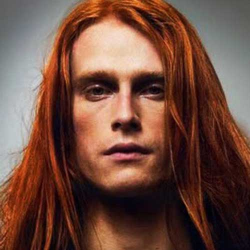Long Ginger Hairstyles for Men