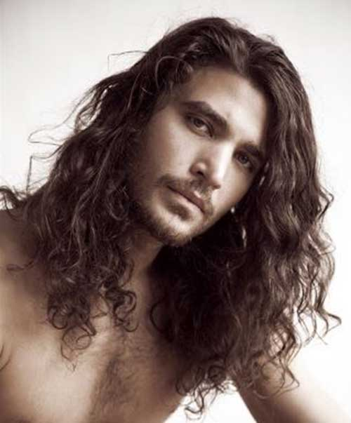 25 best haircuts for wavy hair men mens hairstyles 2017 long curly wavy hair for men urmus Images