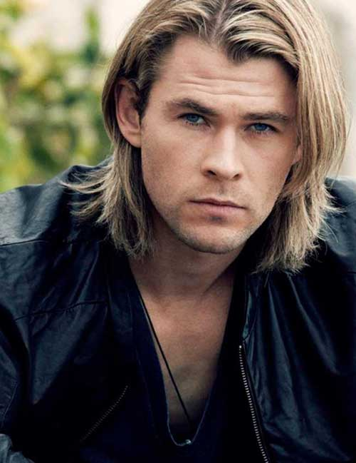 Long Haired Mens Stylish Hairstyles
