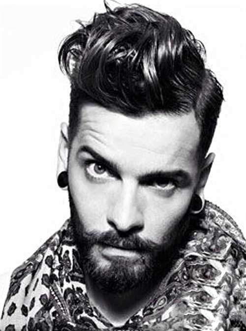 Long Top Undercut Hairstyles for Men
