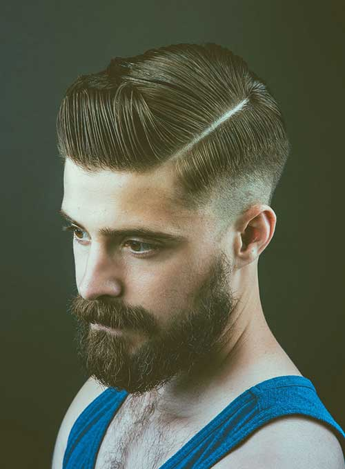 Cool Male Dark Color Hairstyles