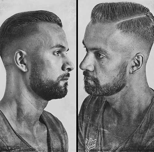 Cool Male Fade Cut Hairstyles