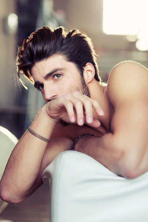 Cool Male Medium Dark Hairstyles