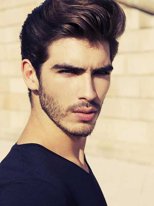 Cool Male Medium Hairstyles