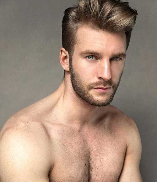 Cool Male Pompadour Hairstyle