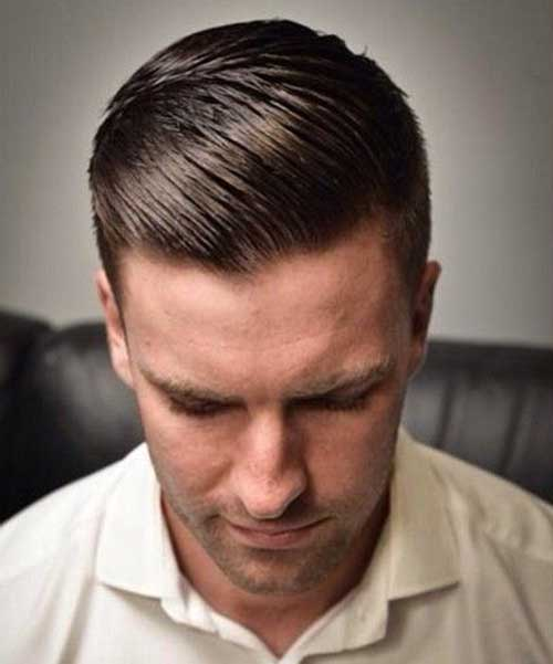 Cool Male Slicked Back Hairstyles