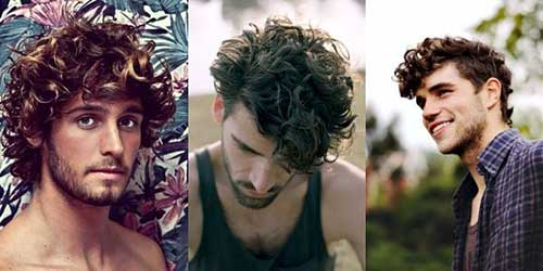Trendy Men Curly Hairstyles