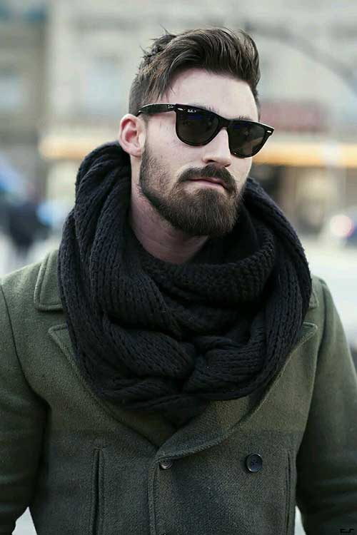 Mens Dark Hair Cut Trends