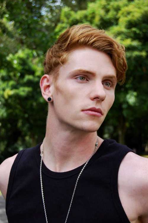 Men Ginger Hair Cut Trends