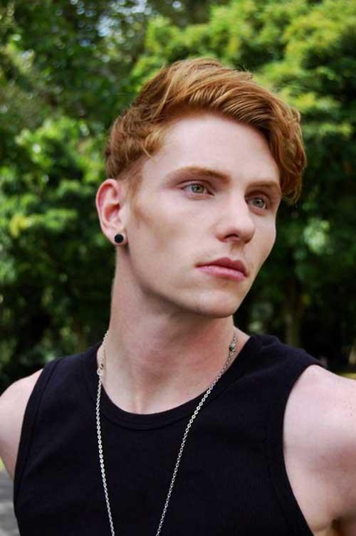 Men Ginger Hair Cut Trends
