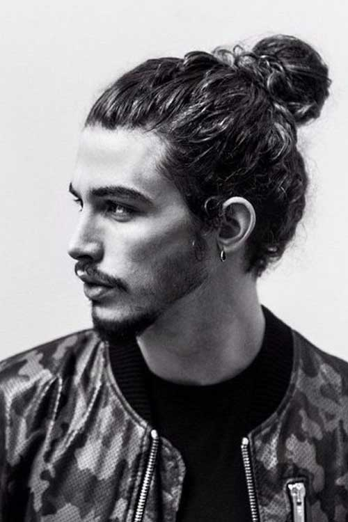 Cool Men Hair Bun