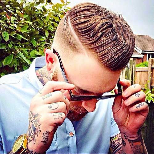 Men Shaved Hair Style Pics