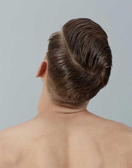 Cool Men Haircut Back