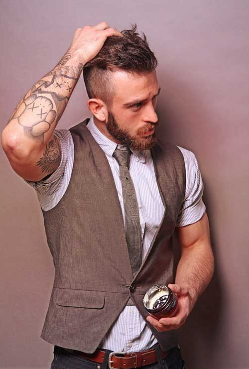 Men Short Side Hairstyle 2014