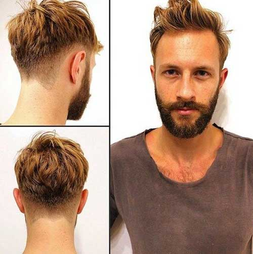 Men S Haircuts 15 Best Styles For Looking Instantly: 15 Best Men Hairstyles Back