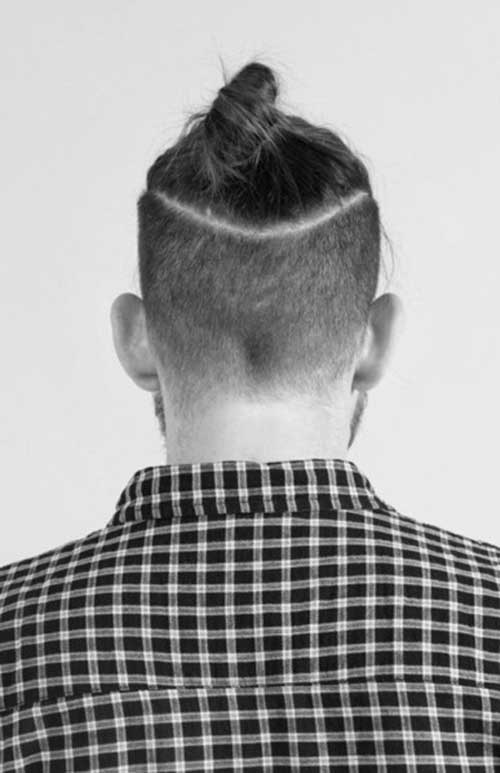Men Bun Hairstyle Trends