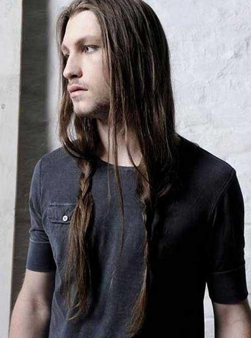 Men Long Braided Hairstyles