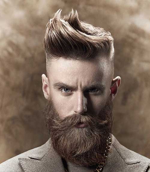 Men Long Top Hairstyle Photos