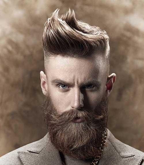 Men Long Top Hairstyle Photos
