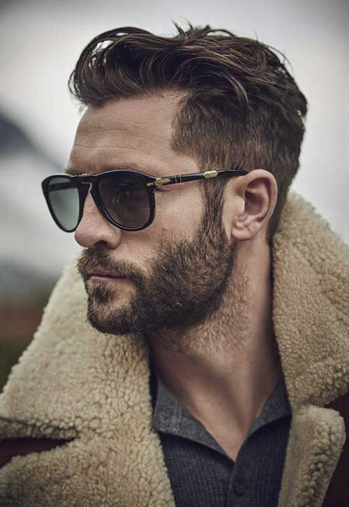 Cool Men Long Top Hair