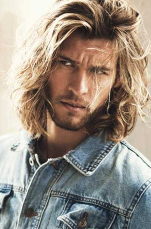 Men Long Wavy Hairstyles