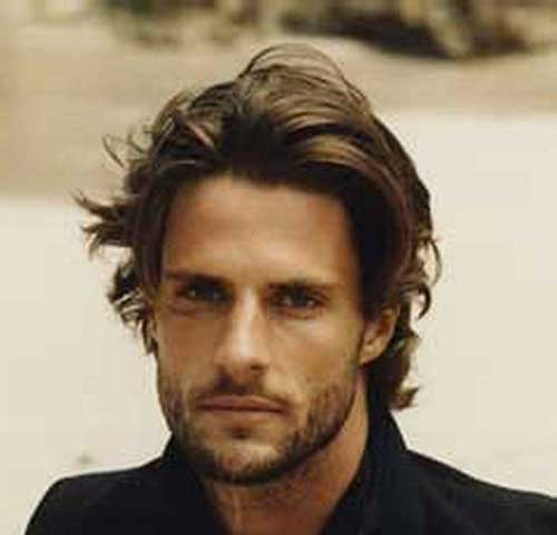 Men Medium Messy Hairstyles