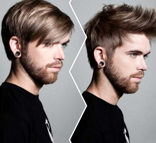 Men Medium Undercut Hairstyles
