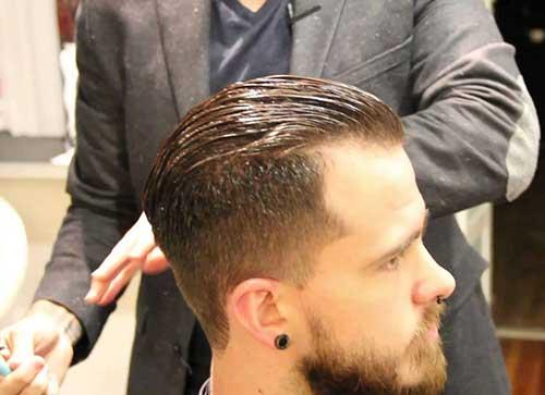 Men Pompadour Hair Cuts