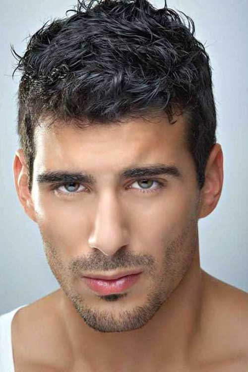 Men Short Curly Wavy Hair 2014-2015