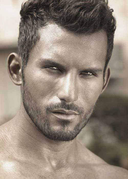 Gallery For Cool Men Short Hairstyles