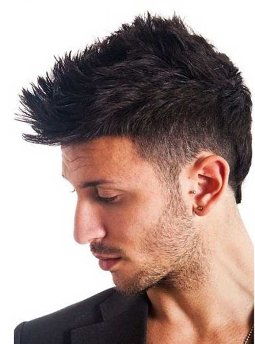 Men Thick Short Hairstyles