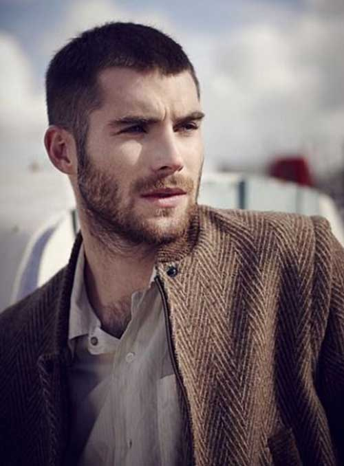 Mens Buzz Cut Hairstyles Long Face