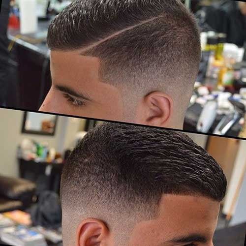 Mens Faded Hairstyles From Back