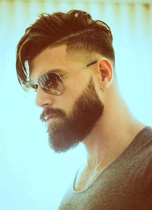 Mens Faded Side Hair Trends