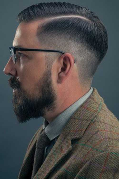 Mens Faded Style Haircuts