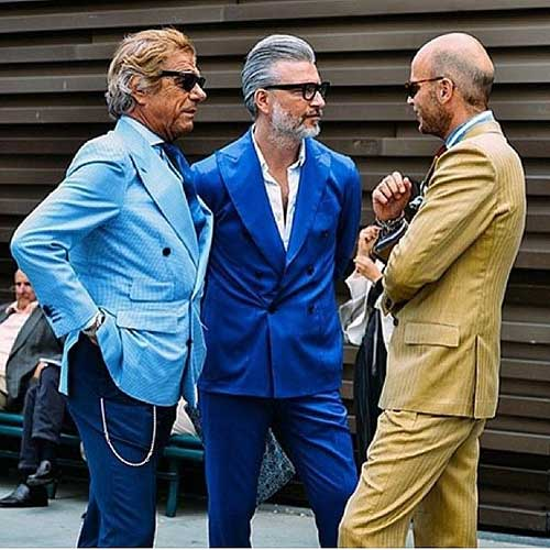 Men's Fashion and Hair Color 2015