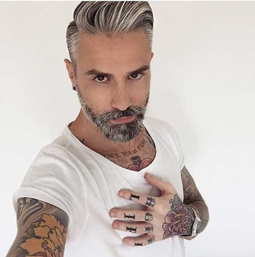 Mens Grey Haircuts