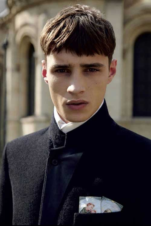 Mens Haircuts with Bangs