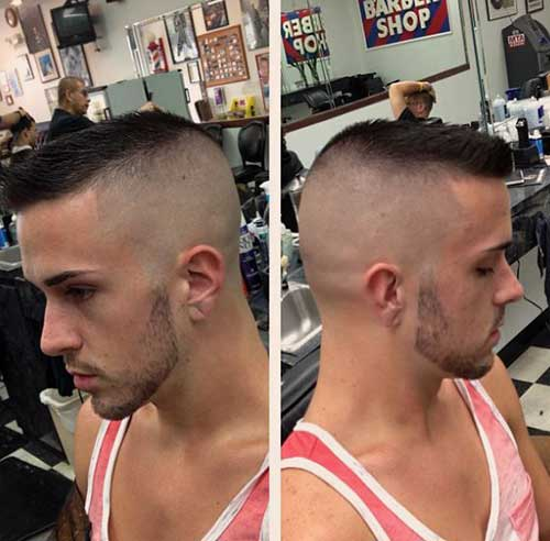 Mens High and Tight Haircuts