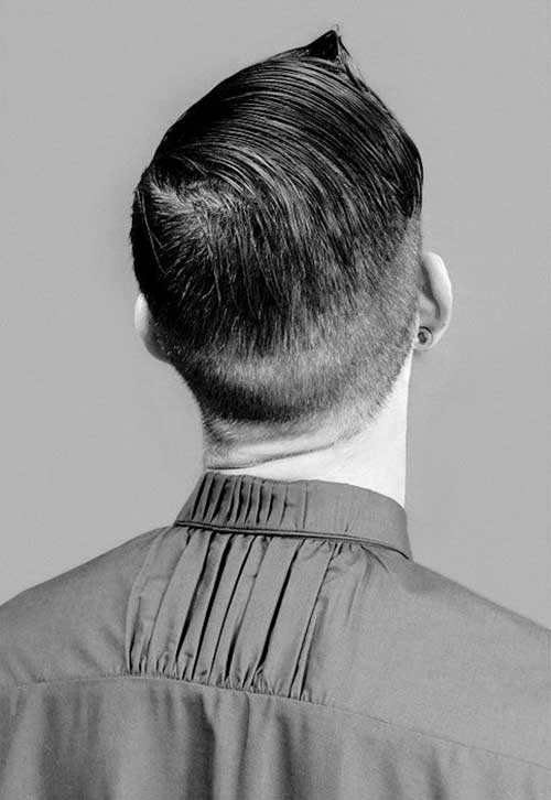 Mens Hipster Haircuts Back View