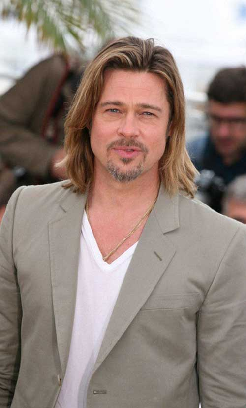 Mens Long Hairstyles for Long Face