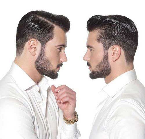 Mens Pompadour Haircut