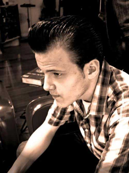 Mens Rockabilly Hairstyles Pictures