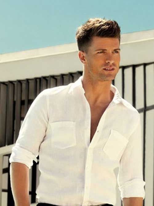 30 Cool Mens Short Hairstyles 2014 – 2015