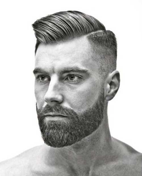 Mens Short Side Long Top Haircuts