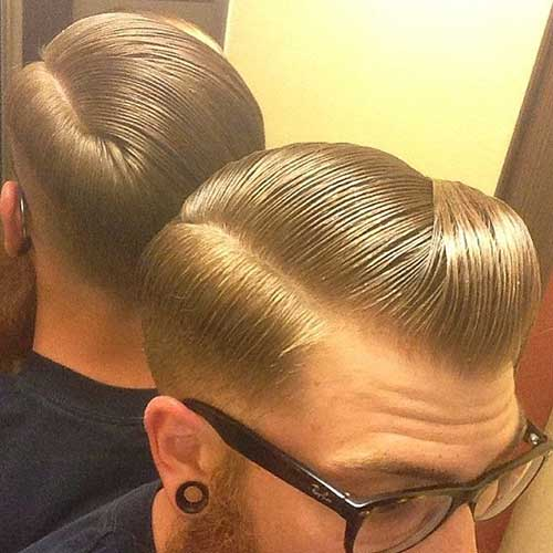 Mens Slicked Hairstyles Trends