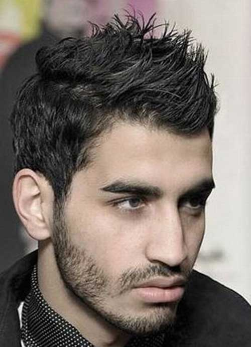 Cool Mens Spiky Hairstyles for Thick Hair
